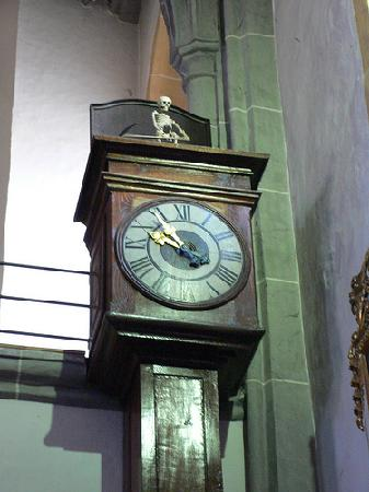 Tod von Eding clock in Altotting by Heather on her travels