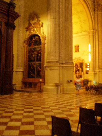 Malaga Cathedral: a part of the cathedral