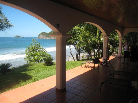 Sugar Beach Hotel: view from the 5 bedroom house