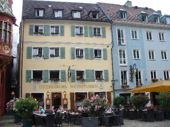 Hotel Oberkirch: front of hotel facing the munster