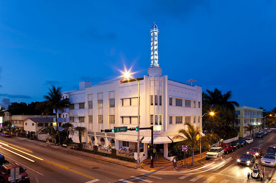 The Hotel  of  South Beach Exterior