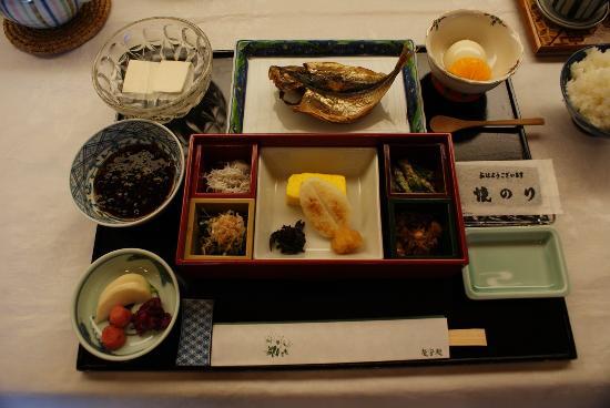 Ryuguden Hotel: 朝食。