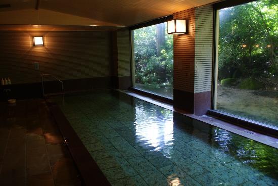 Ryuguden Hotel: 別館の温泉。