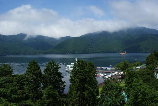 Ryuguden Hotel: 部屋からの景色。
