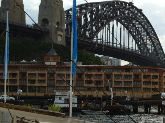 Park Hyatt Sydney: park hyatt under harbor bridge