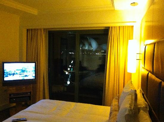 Park Hyatt Sydney: view from inside room