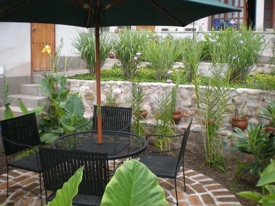 Terramaya: Garden Sitting Area