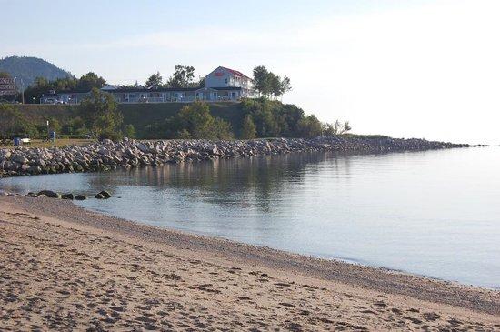 Saint-Simeon, Canadá: Très bien situé