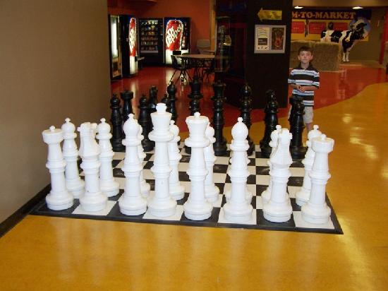 The DoSeum - San Antonio's Museum for Kids: giant chess