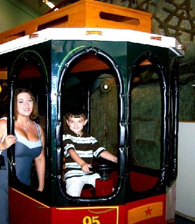 The DoSeum - San Antonio's Museum for Kids: trolley car