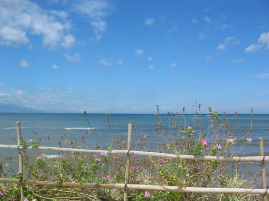 Pantai Mas: Blick vom Podium