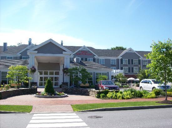 Front Of Hotel Picture Of Hilton Garden Inn Freeport