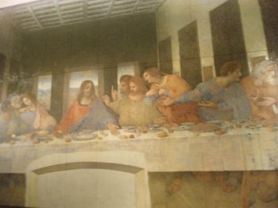 Otsuka Museum of Art : 最後の晩餐。修復前後があります。