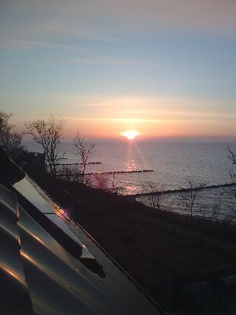 Sonnenuntergang Ustronie Morskie