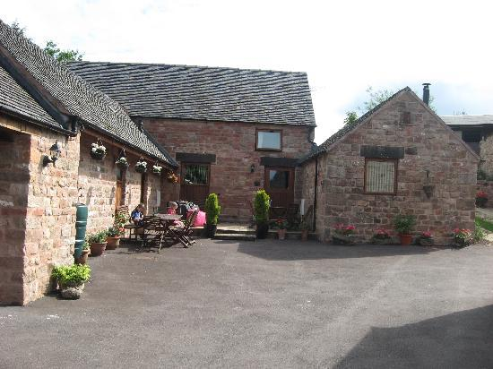 Rock House Farm Holiday Cottages: outside of the 2 adjoining cottages