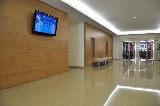 Hotel Samos: Lobby
