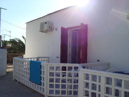 Hotel Costa Citara: questo è il balconcino della nostra stanza