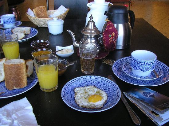Riad Le Ksar de Fes: Le petite déjeuner