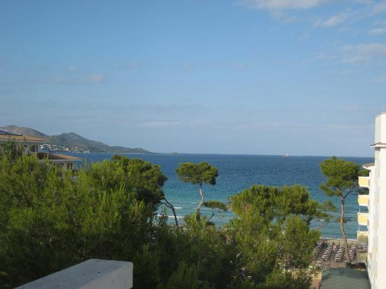 Iberostar Alcudia Park: Blick auf die Bucht von Alcudia