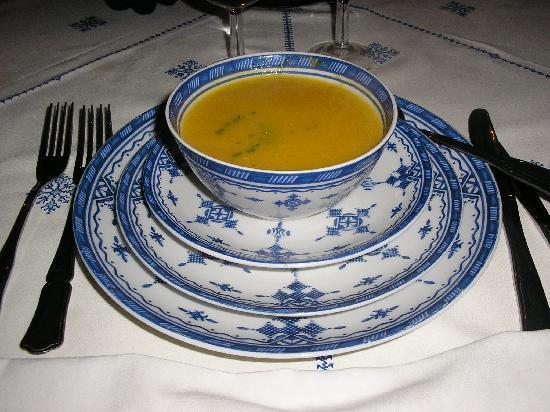 Riad Zamane: repas du soir 2