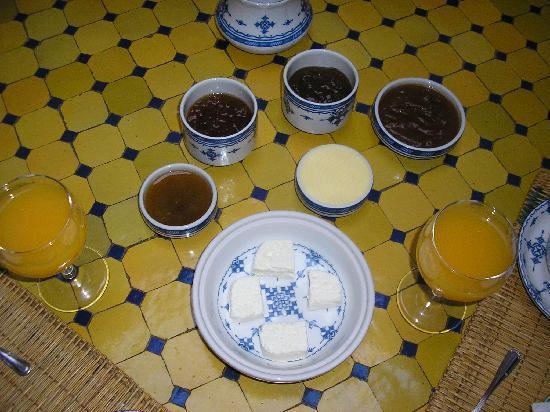 Riad Zamane: petit déjeuné 1