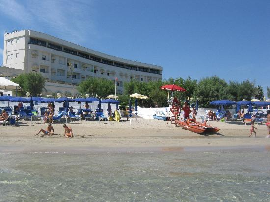 Torre Canne, Italy: hotel levante dal mare