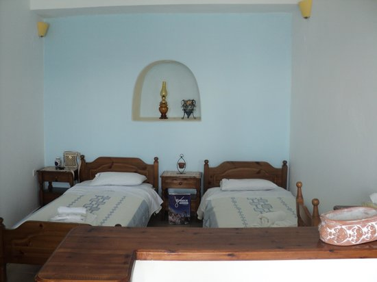 Kima Villa: Sleeping area