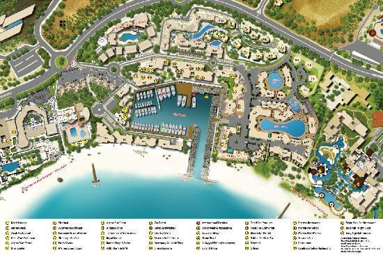 Tala Bay Vacation Homes: Tala Bay Map