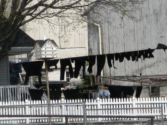 Amish Country: panni stesi degli Amish