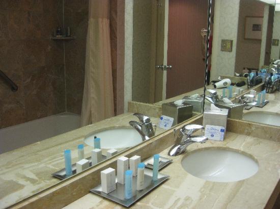 Hilton Akron / Fairlawn : bathroom