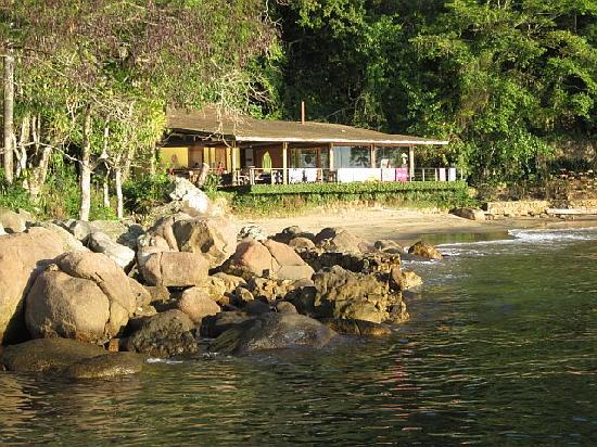 The Island Experience: View of the main lodge