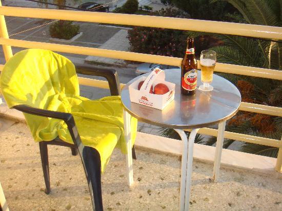 Minavra Hotel: my balkony