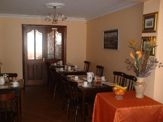 Corrigeen B&B: Dining Room