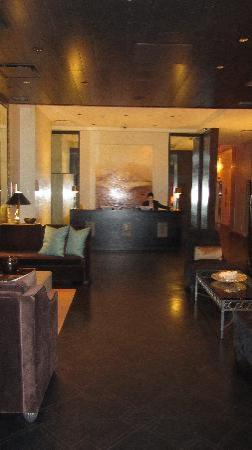 Loden Hotel: view of lobby upon entrance
