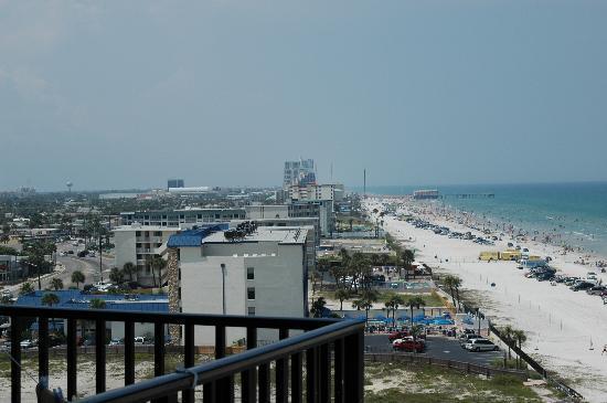 Nautilus Inn: View toward the pier (North)