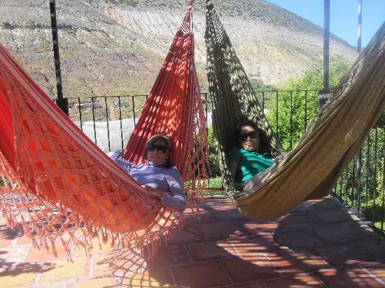 Refugio Romano: hamacas