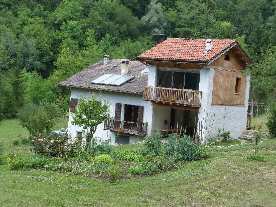 Cesiomaggiore, Italy: Alla Casetta the B&B house in Feltre