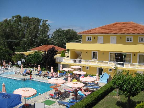 Hotel Macedonia: View from balcony