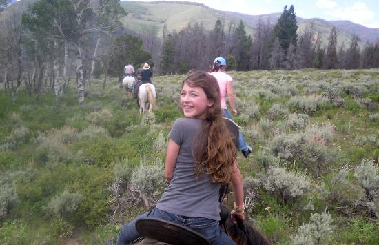 Granby, CO: Riding the Upper Pasture