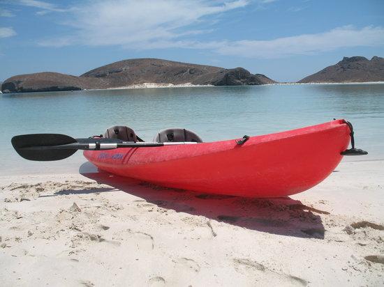 Hacienda Del Sol: Kayak in Baja Bay