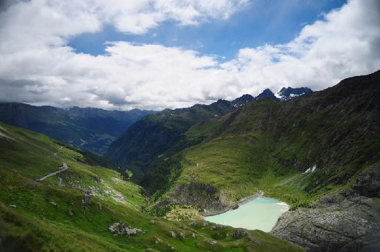 Glacial meltwater lake at Grossglockner