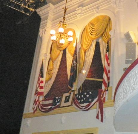 Ford's Theatre: President Lincoln's Box