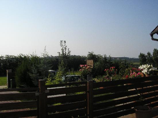 Kohegy Fogado: view from patio