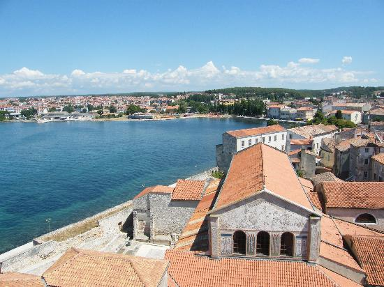 Porec, Kroatien: the view from the bell tower