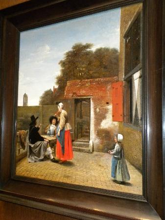 National Gallery of Art: A Dutch Courtyard - Pieter de Hooch