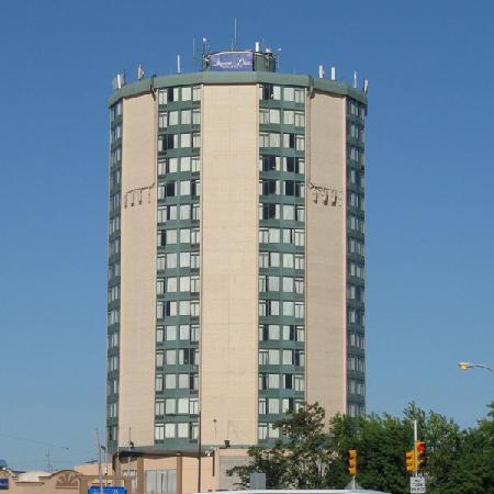 Penrose Hotel: The tower can be seen from all over South Philly.