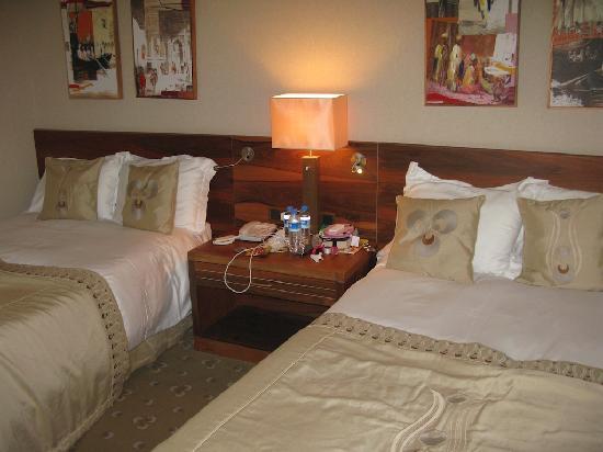 Second bedroom in garden villa