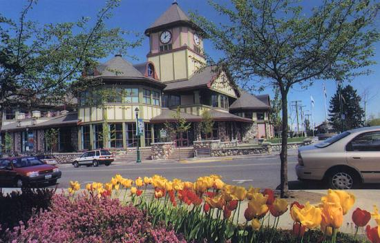 Qualicum Beach Town Hall sets the tone for quaint architecture and gardening throughout the comm