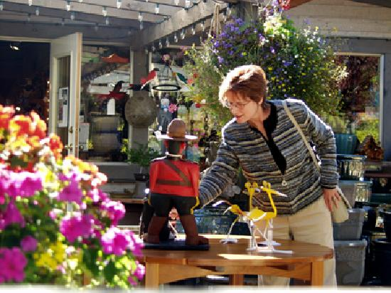 Qualicum Beach is known for quaint boutique shops