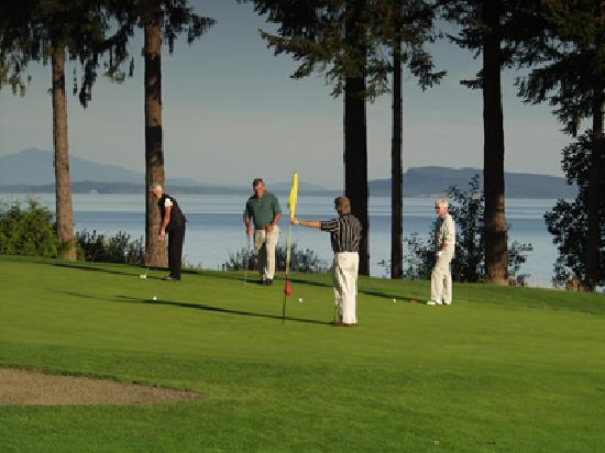 Qualicum Beach Memorial is one of the most photographed courses on Vancouver Island